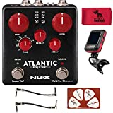 Nux Atlantic Verdugo Series Delay/Reverb Guitar Effects Pedal w/Master Clip-on...