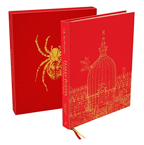 Harry Potter and the Chamber of Secrets: Deluxe Illustrated Slipcase Edition