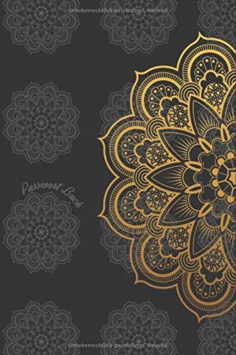 Passwort Buch: Mandala | Din A5