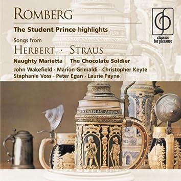 Romberg: The Student Prince; Herbert, Straus