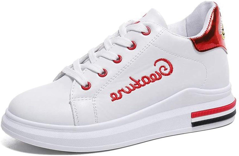 U-MAC Women's Casual Wedge Sneakers Athletic Walking shoes Height Increase Breathable Ladies Non Skid Wear