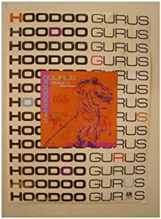 The Hoodoo Gurus Poster Stone Age Romada Hoo Doo