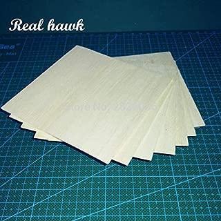 Best Quality - Parts & Accessories - Balsa Wood Sheets 100x100x2.5mm Model Balsa Wood for DIY RC Model Wooden Plane Boat Material - by Waza Ka - 1 PCs