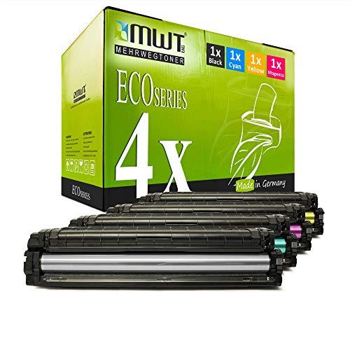 4X MWT Toner für Samsung ProXpress C 2620 2670 2680 FW FX DW Premium Line ersetzt CLT-505L