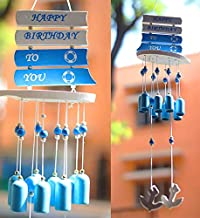 PARADIGM PICTURES Fengshui Happy Birthday 8 Brass Bell Windchime for Home Decor Good Luck Gift Positivity Vastu Correction