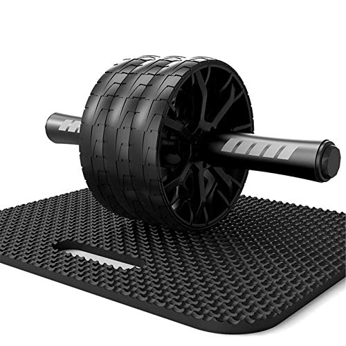 Rueda de ejercicio abdominal 2/3-ruedas AB Rodillo de rueda abdominal + rodilla Pad Home Muscle Trainer Gimnasio Fitness Ejercicio Herramientas de ejercicios Equipo de entrenamiento Núcleo Ejercicio R