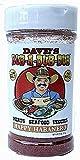 Dave's Rub a Dub Dub Happy Habanero Seasoning Low Sodium Dry Rub BBQ Spice Blend for Meats Seafood...