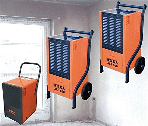 Deumidificatore aria ALE 600 1000 W, 52 kg, 680 m3/h, capacità di deumidificazione 60 l/24 ore