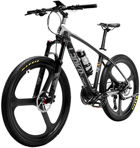 Fangfang Electric Bikes, Super-Light 18kg Carbon Fiber Electric Mountain Bike PAS Electric Bicycle With Altus Hydraulic Brake,E-Bike