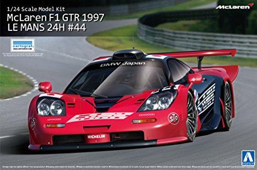 McLaren F1GTR 1997Le Mans 24horas # 441: 24Model Kit montar aoshima 007518