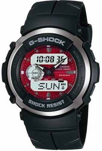 [カシオ] 腕時計 ジーショック G-300-4AJF ブラック