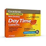 GoodSense Daytime Cold and Flu Multi-Symptom Relief, 24 Count