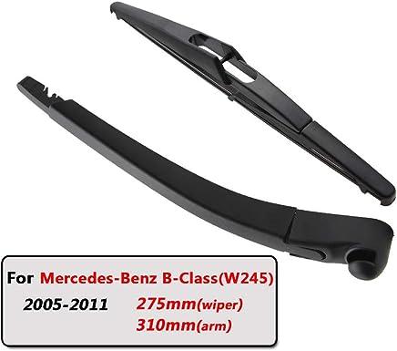 SLONGK Escobillas De Limpiaparabrisas Traseras del Automóvil Brazo De Limpiaparabrisas Trasero, para Mercedes-Benz
