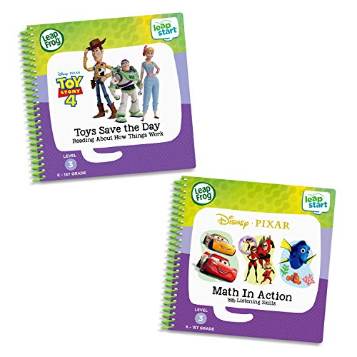 LeapFrog Leapstart 3D 2 Book Combo Pack - Toy Story & Maths in Action