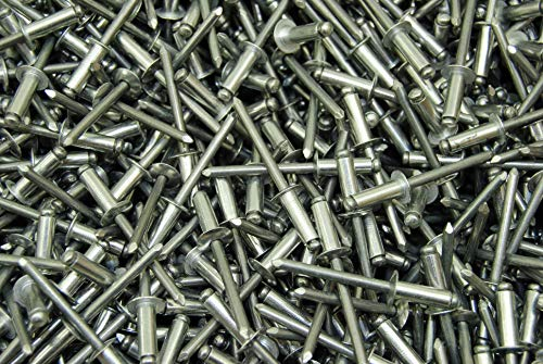 (225) 3/16 x 3/8 Aluminum Blind Pop Rivet AAD66 AD66ABS 66 Dome Head 66AAD
