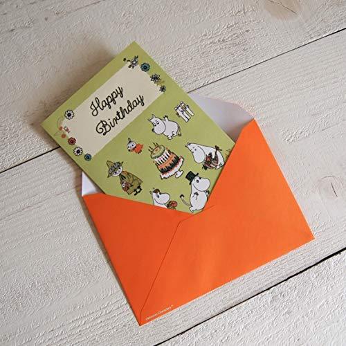グリーティングカード MOOMIN ムーミン 立体バースデーカード/ムーミンとケーキ