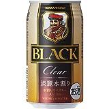 ブラックニッカ クリア&ウォーター 350ml×12本 缶