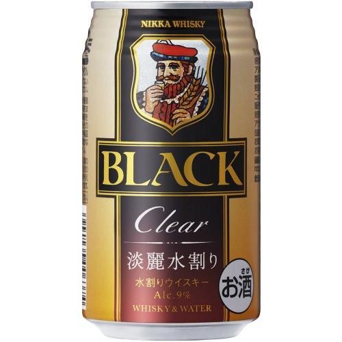 アサヒ ブラックニッカクリアブレンド&ウォーター 缶350ml [8659]