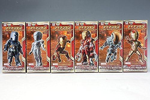 Ironman World Collectible figure vol.1 all six set Banpresto prize