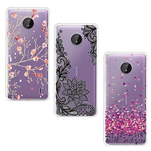 JIENI Cover per Nokia G20 (6.52') Custodia, Trasparente Silicone Custodie Protettivo Morbido Shell Cartoon Case TPU Guscio Copertura - WM84+85+108