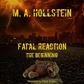 Fatal Reaction: The Beginning audiobook cover art