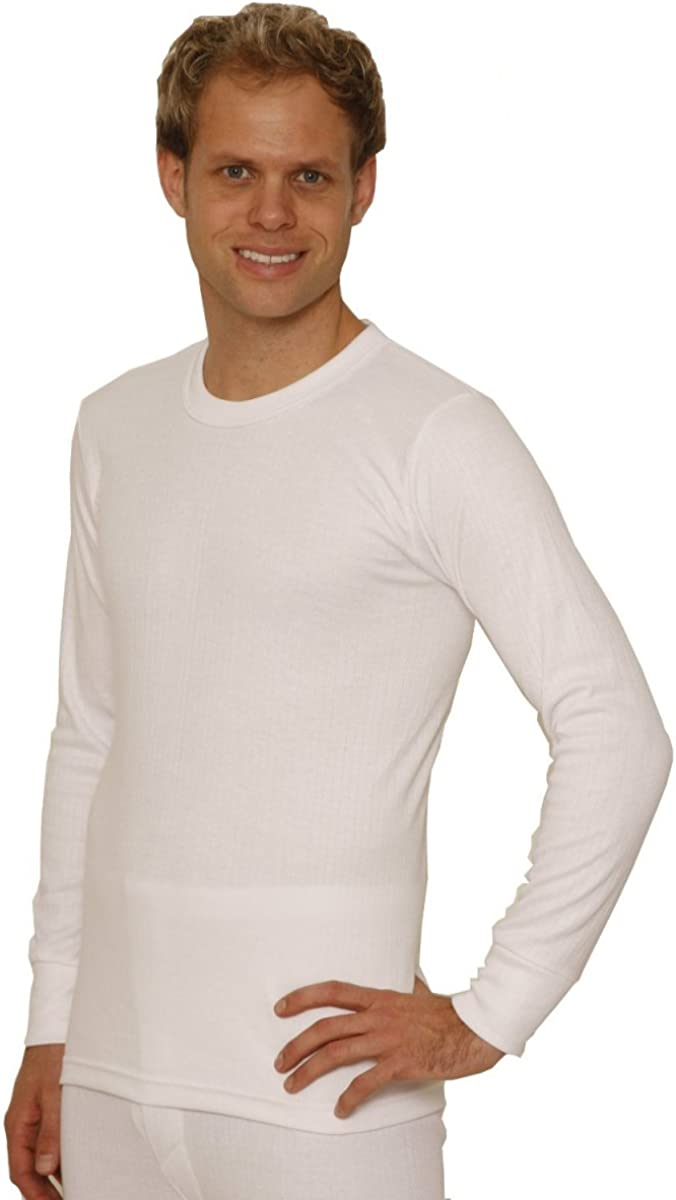 Octave 6 Pack Mens Thermal Underwear Long Sleeve T-Shirt/Vest/Top