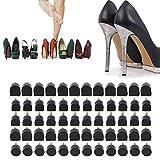 60 Piezas 5 Tamaños Diferentes Tapas de Tacón Consejos de Zapatos de Tacón de Reparación
