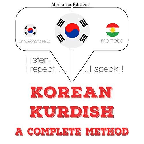 Korean – Kurdish. A complete method cover art