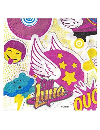 Soy Luna Two-Ply Paper Napkins 33x33cm