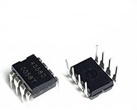 NJM4558D in-line DIP8 JRC4558D Dual Operational Amplifier