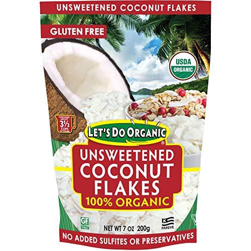 Lets Do Organics: Organic Coconut Flakes