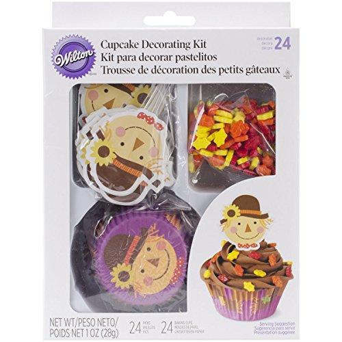 Wilton Cupcake Decorating Kit Scarecrow, Pack of 24