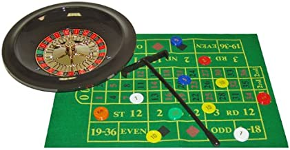 Trademark Poker 10-TFB311-10 Deluxe Roulette Set with Chips