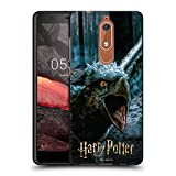 Head Case Designs Officiel Harry Potter Buckbeak Deathly Hallows XXX Coque Noir en Gel Doux...