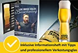 Kalea Bier-Adventskalender internationale Biere & Verkostungsglas - 6