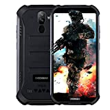 DOOGEE S40 Robustes 4G Android 9,0 Handy ohne Vertrag,5,5' HD (Gorilla Glass 4) IP68 Outdoor wasserdichtes Telephone DUAL SIM Militär Smartphone, 4650mAh Akku, Quadcore 1,5GHz 2GB+16GB NFC - Schwarz