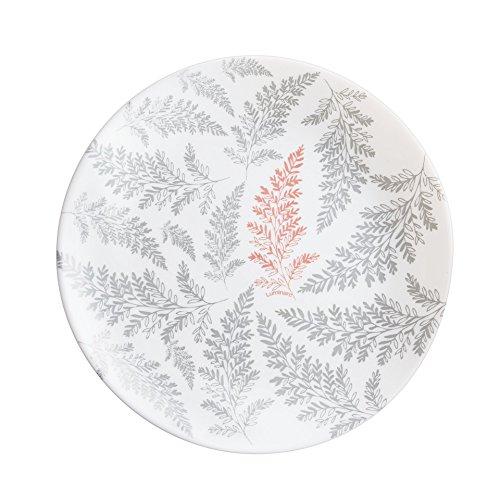 Luminarc N4156 - Juego de 6 platos de postre (19 cm), color blanco
