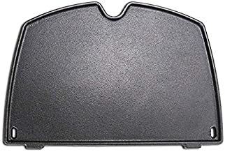 Uniflasy 6559 Cast Iron Cooking Griddle for Weber Q 200 and Q 2000 Grill, Q200, Q220, Q240, Q260, Q2000, Q2200, Q2400 Series Grills Gas Grills Parts, 15.3 x 10.8 x 0.5 Inches