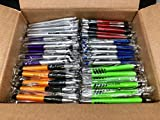 Impex Pens: 5lb Box of New Pens - Random Assortment of Body's and Colors - Individually Wrapped and Safe (New Factory Direct, Not Misprints, Overruns, or Defects)