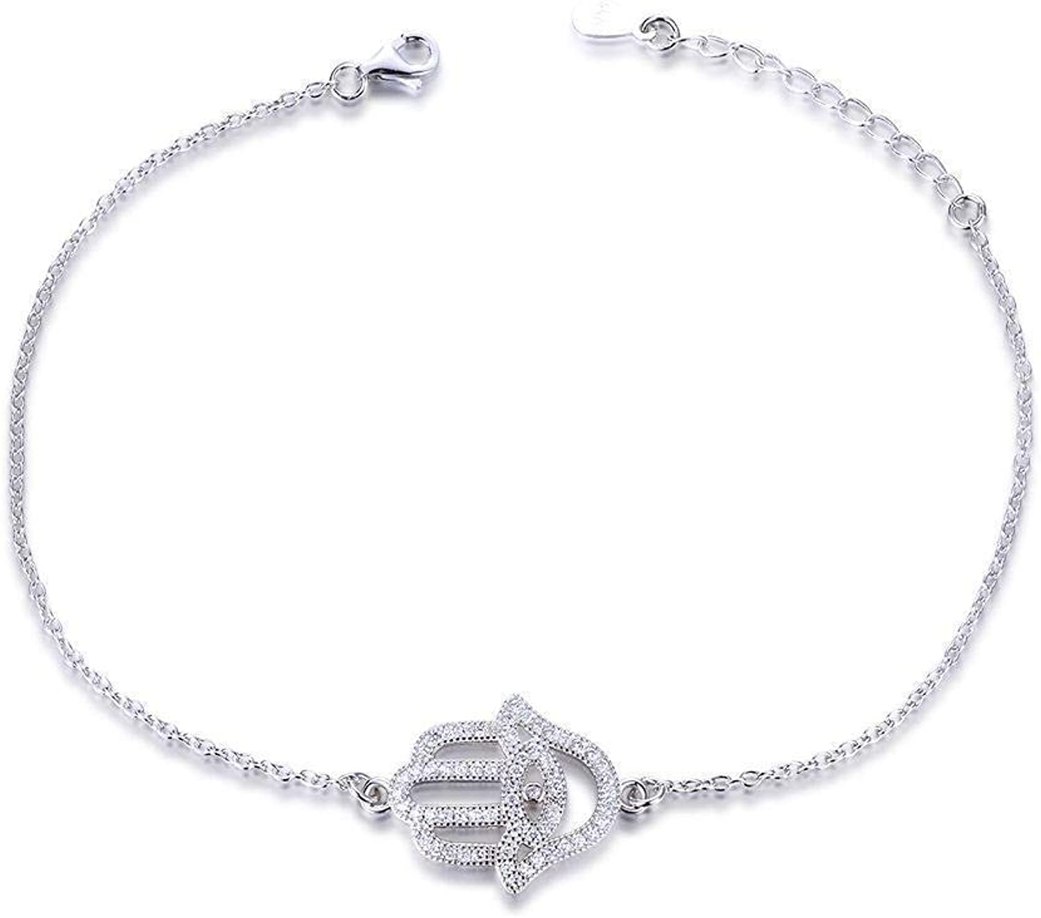 Zicue Stylish Charming Bracelet Exquisite Ornaments Lady's hand decorated Crown Diamond adjustable bracelet lady Gift