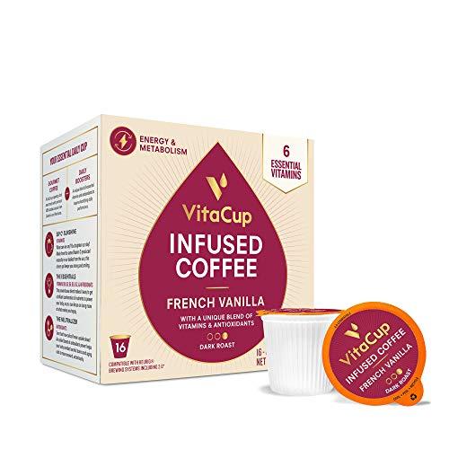 VitaCup French Vanilla Flavor Coffee