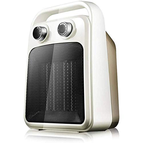New LMDH Ceramic Space Heater with Adjustable Thermostat, Fast Heating for Small and Middle Rooms, O...