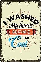 レトロおかしい金属錫サイン12x 16インチ(30 * 40 cm)トイレバスルームwcブリキ看板警告通知パブクラブカフェホームレストラン壁の装飾アートサインポスター(fs-1-92)
