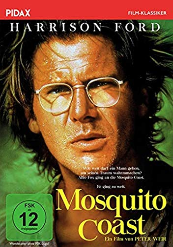 Mosquito Coast / Preisgekrönte Romanverfilmung mit Harrison Ford, Helen Mirren und River Phoenix (Pidax Film-Klassiker)