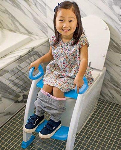 Neuf Just4baby d'apprentissage de la propreté Abattant de WC Escabeau Loo Trainer Fit-all