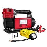 BuoQua Pompa Portatile Compressore Aria Heavy Duty 12V Robusto Pompa D'aria Compressore Singola Fase Pompa Tyre Gomma Auto Di Gonfiaggio Air Compressor Kit