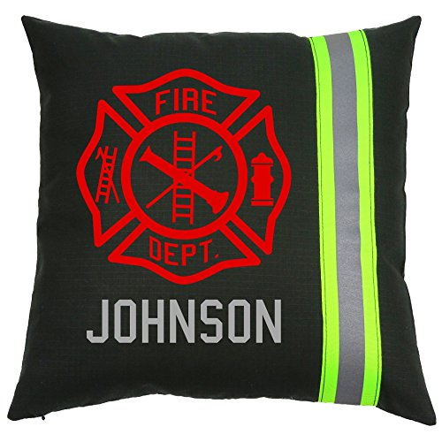 Personalized Firefighter Cross Pillow