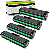GREENCYCLE Compatible Toner Cartridge Replacement for Samsung 111S MLT-D111S Black Compatible with Xpress SL-M2020W Xpress SL-M2070W Xpress SL-M2070FW Printer 4PK