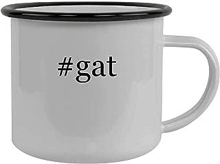 #gat - Stainless Steel Hashtag 12oz Camping Mug