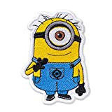 Despicable Me Minion Carl Embroidered Patch Iron On (2.9' × 4.2')